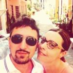 Con mia moglie Alessia