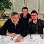 Con Francesco Guccini