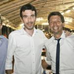 Con Maurizio (Martina) e Gianluca (Galimberti)