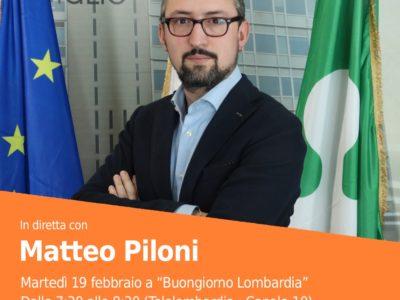 Appuntamento in TV. Martedì 19 febbraio a Buongiorno Lombardia (canale 10), dalle 7.30