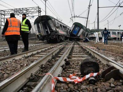 25 gennaio. 3 anni fa l'incidente ferroviario di Pioltello